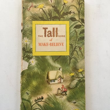 1950 The Tall Book Of Make Believe, Jane Werner, Garth Williams, Fairy Tales, Children's Story Book by luckduck