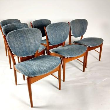 Finn Juhl Dining Chairs by ModernMixPlus