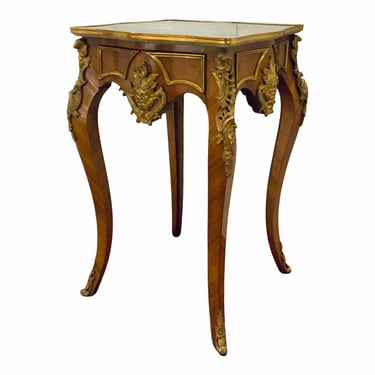 Antique 1920's French Louis XV Style Side Table