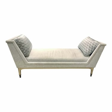 Caracole Modern Gray End to End Bench