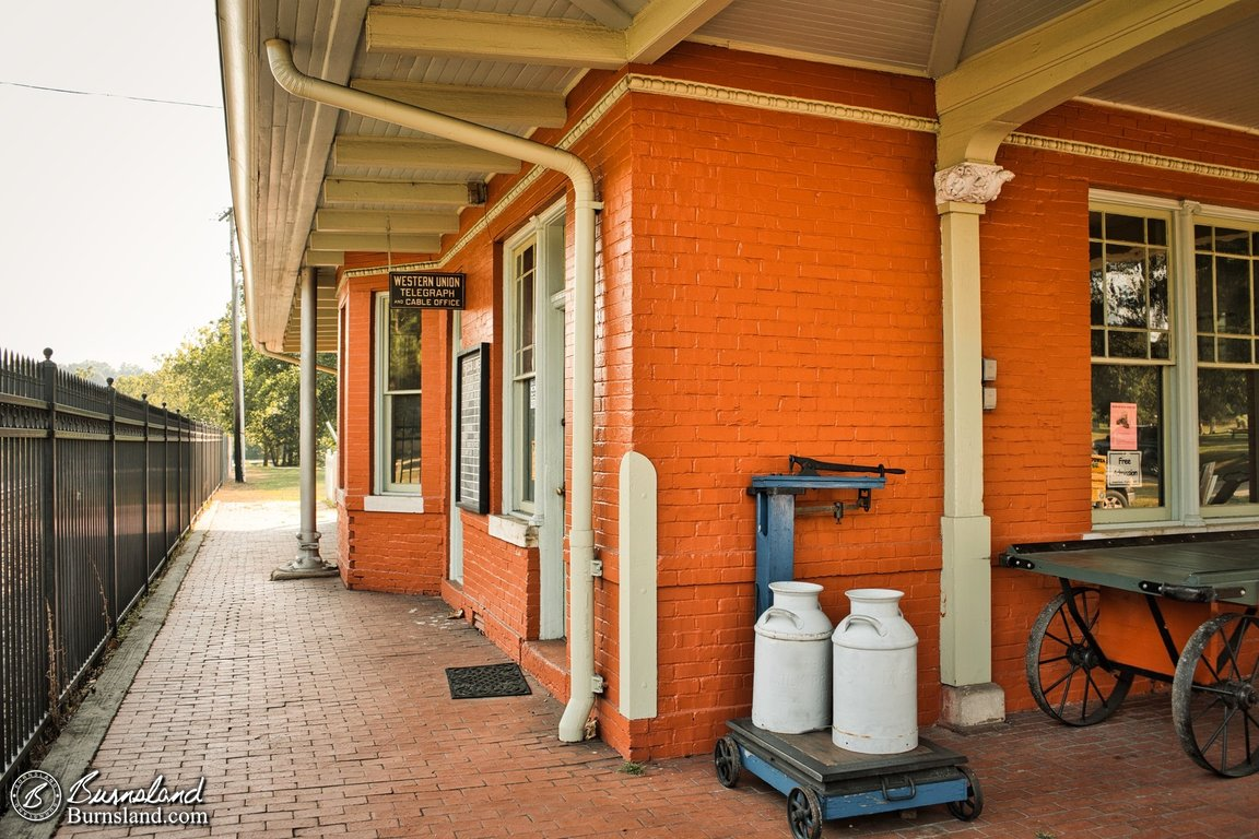 Train Depot at Mammoth Spring