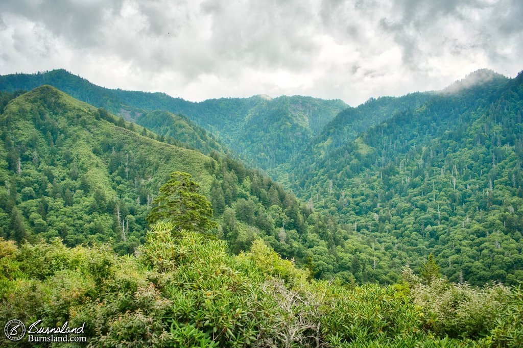 Inspiration Point in the Great Smoky Mountains National Park