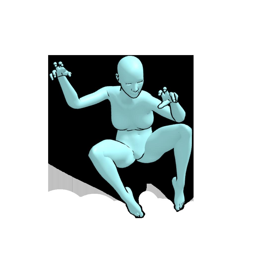360 pose figure drawing 4