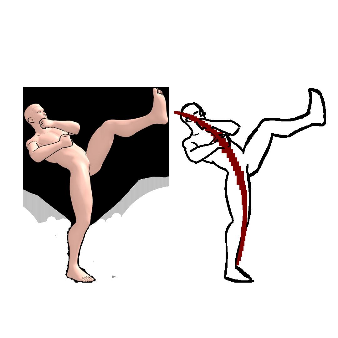 360 pose figure drawing 2