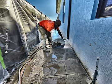Cutting a Slab in South Miami